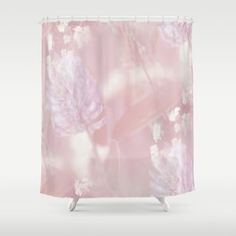 Romantic Moment Pink White Flowers #decor #society6 Shower Curtain