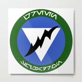 Green Squadron (Alliance) Metal Print