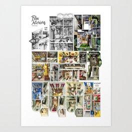 Film Interiors of the 2010s Art Print