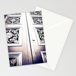 Don't Come A' Knockin' Stationery Cards