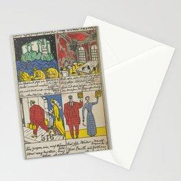 The Ghost Castle (after Oscar Wilde) (Das Gespensterschloß (nach Oskar Wilde)),1911 Stationery Cards
