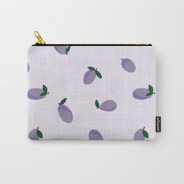Plums Carry-All Pouch