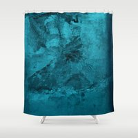 mucha Shower Curtains featuring Oxum by Fernando Vieira
