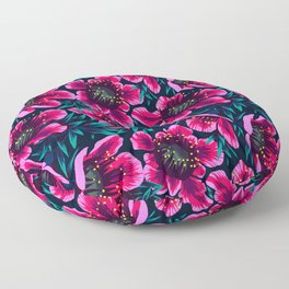 Manuka Floral Print Floor Pillow