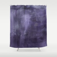 psychology Shower Curtains featuring Ecphory by Art by Mel