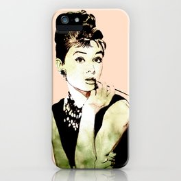 MISS GLOLIGHTLY - Breakfast at Tiffany´s - QUOTE iPhone Case