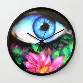 Title: 3rd Eye of Wisdom Wall Clock
