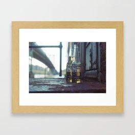 williamsburg, nyc Framed Art Print