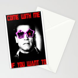 COME WITH ME IF YOU WANT TO Stationery Cards
