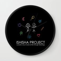 ISHISHA PROJECT by ISHISHA PROJECT Wall Clock
