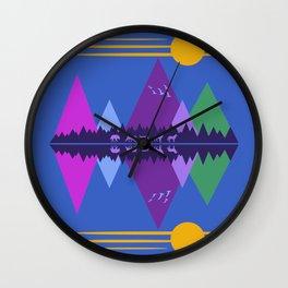 Wolf Pack Passage Wall Clock