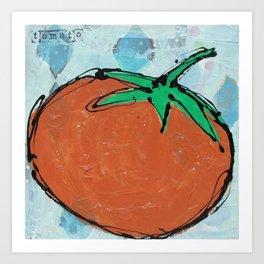 tomato. Art Print