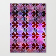 Bohemian Night Sky -Purple Canvas Print