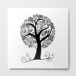 Sitting on a branch Metal Print