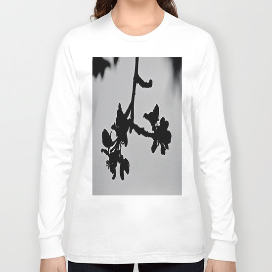 Blooming Silhouette Long Sleeve T-shirt