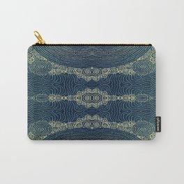 Indigo Batik Carry-All Pouch