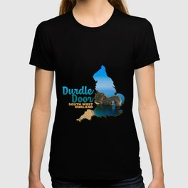 Durdle Door South West England natural limestone arch Water Sea Stone Blue T-shirt