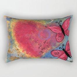 Beautifully Imperfect Rectangular Pillow