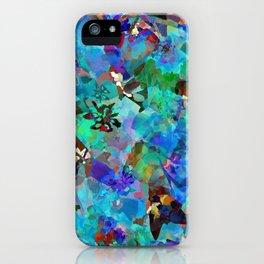 Hawaiian Jungle Batik iPhone Case
