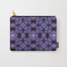 Lavender Moroccan Bohemian Tile Pattern Carry-All Pouch