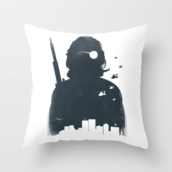 John Carpenter's Escape From New York Throw Pillow
