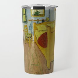 Bedroom in Arles by Vincent van Gogh Travel Mug