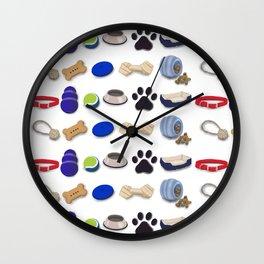 Dog-Mania Wall Clock