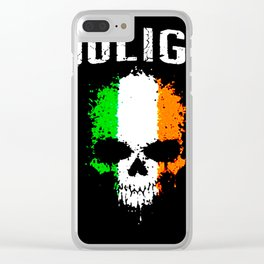 hooligan Clear iPhone Case