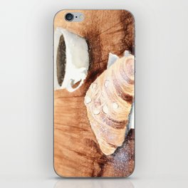 Croissant and Coffee iPhone Skin
