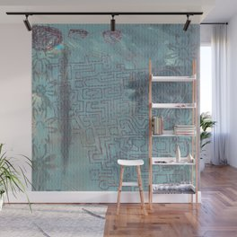 Aether Maze Wall Mural