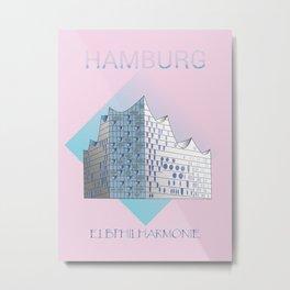 Elphi Hamburg Metal Print