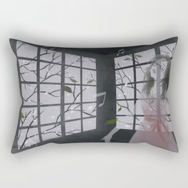 raise your voice Rectangular Pillow