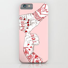 You, Me, Tonight iPhone Case