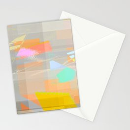 marine layer breakin off Stationery Cards