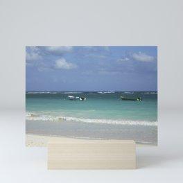 Carribean sea 12 Mini Art Print