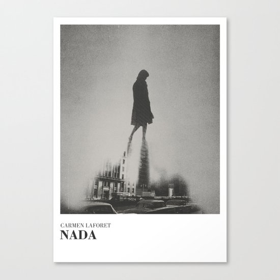 Nada - literary art series Canvas Print