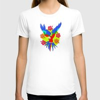 parrot T-shirts featuring Parrot by lescapricesdefilles