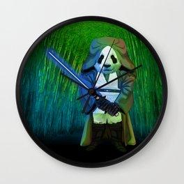MASTER PANDA iPhone 4 5 6 7 case, pillow case, mugs and tshirt Wall Clock