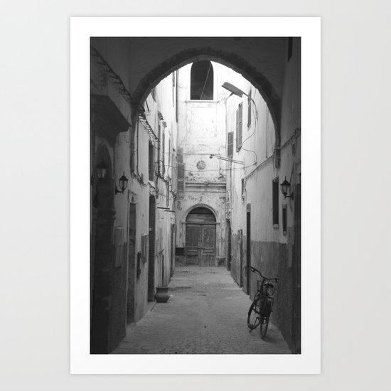 Marrakesh Alley Art Print