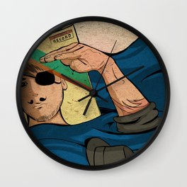 To The Boat That Rocked Wall Clock