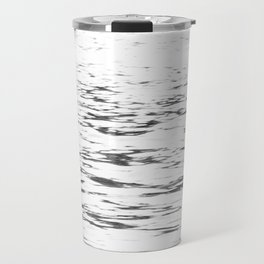 Water Ripples - Grey Travel Mug