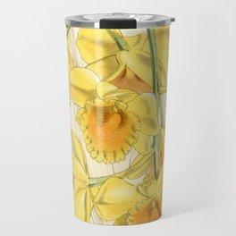 Dendrobium chrysotoxum Travel Mug