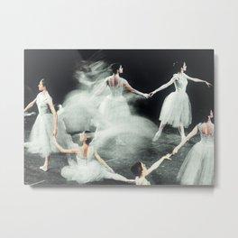 Ghost Dance, Vintage Ballet Metal Print