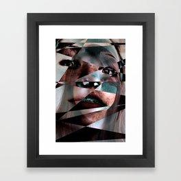 Distortion III Framed Art Print