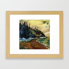 The Bluffs Framed Art Print