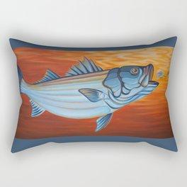 Striper Season Rectangular Pillow