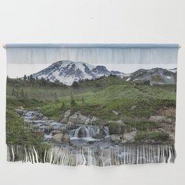 Edith Creek and Mount Rainier Wall Hanging