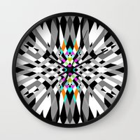 chic Wall Clocks featuring Chic by Ornaart