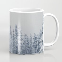 Mammoth Lakes: Center Weighted Blue Coffee Mug