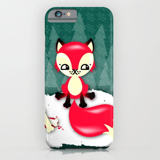 Fox's Christmas Dinner iPhone & iPod Case